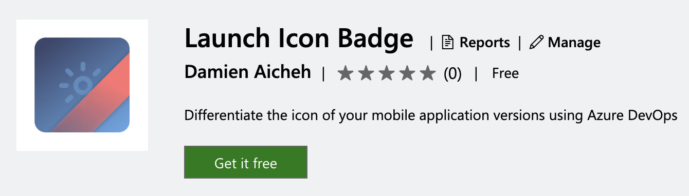 Launch Icon Badge